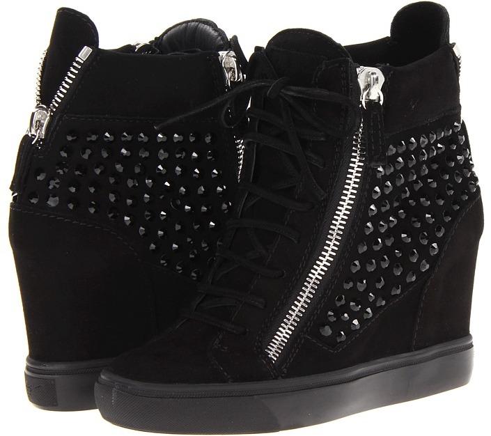 Giuseppe Zanotti RDW308 47141 LOR75 (Cam Nero) - Footwear