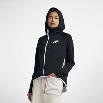 Nike Women's Full-Zip Cape Sportswear Tech Fleece