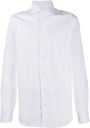 Barba Plain Long Sleeved Shirt