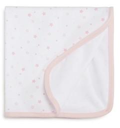 Little Me Infant Girls' Star Receiving Blanket, Baby - 100% Exclusive