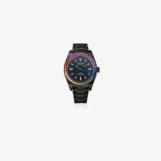 Mad Paris customised Rolex Milgauss Rainbow 35mm