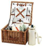 Picnic at Ascot Cheshire Picnic Basket for 2 w/Coffee Service