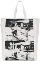 Calvin Klein photo print tote bag