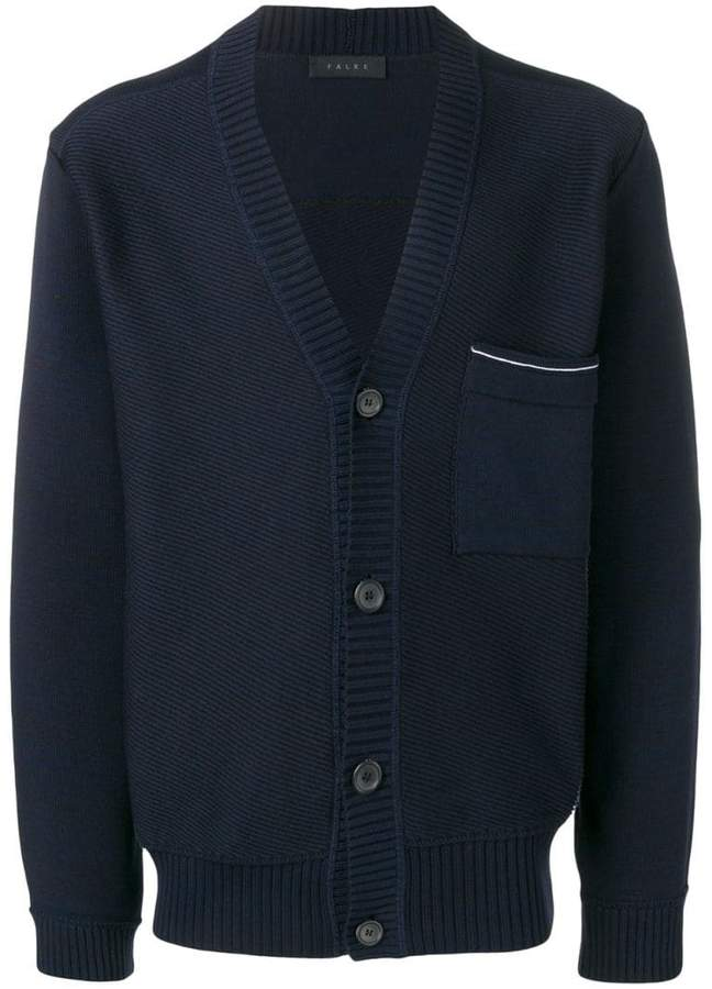 Falke V-neck button cardigan