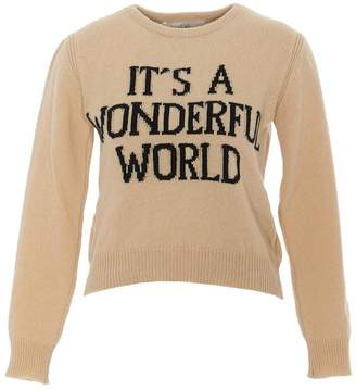 Alberta Ferretti It's A Wonderful World Jumper