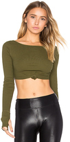 Free People New Wave Top in Green. - size L (also in )