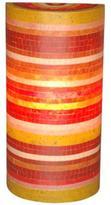 Jeffan Macedon 1-Light Red, Green, Orange and Yellow Wall Sconce with Mosaic Fiberglass Pattern