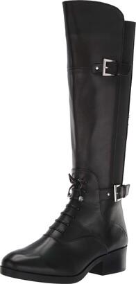Adrienne Vittadini Footwear Women's Moshiko Equestrian Boot
