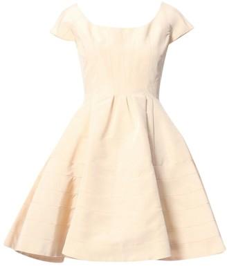 Zac Posen Beige Silk Dresses