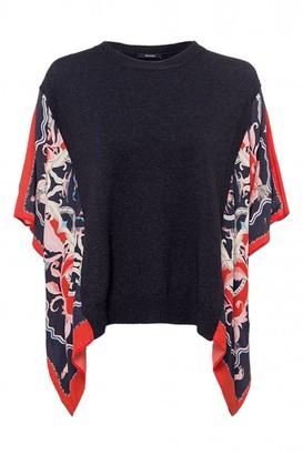 Riani Print Sleeve Knit - 12