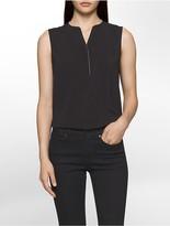 Calvin Klein V-Neck Sleeveless Top