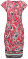 M&Co Paisley print border tunic dress