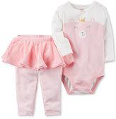 Carter's 2-Pc. Princess Bear Bodysuit and Tutu Leggings Set, Baby Girls (0-24 months)