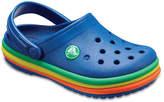 Crocs Rainbow Band Toddler & Youth Clog - Boy's
