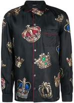 Dolce & Gabbana printed pyjama shirt