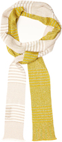 Missoni Bi-colour fine-knit scarf