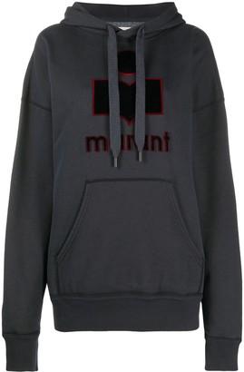 Etoile Isabel Marant Emansel logo hoodie
