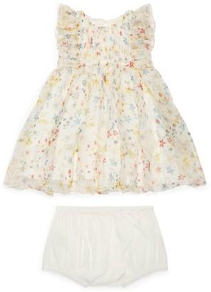 Stella McCartney Silk Floral Print Dress