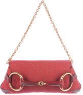 Gucci Small GG Canvas Horsebit Bag