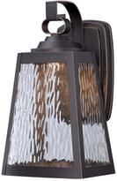 The Great outdoors by Minka Lavery Talera 1-Light Oil Rubbed Bronze LED Wall Mount with Gold Highlights