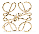 Loewe Gold-tone Brooch - one size