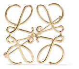 Loewe Gold-tone Brooch