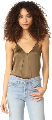 Vince Women's Pleat Neck Cami