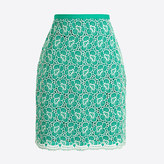 J.Crew Factory Flounce skirt with floral embroidery