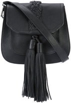 Rebecca Minkoff tassel crossbody bag - women - Cotton/Leather - One Size