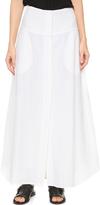 Zero Maria Cornejo Crinkle Stripe Nadi Maxi Skirt