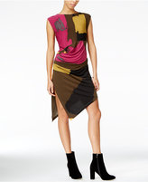 Rachel Roy Patterned Sheath Dress, Only at Macy's