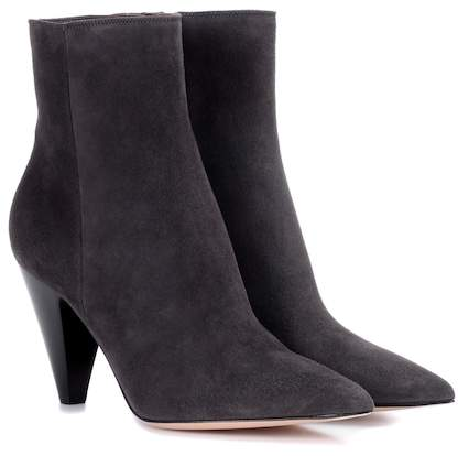 Gianvito Rossi Exclusive to mytheresa.com – Kay suede ankle boots