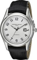 Frederique Constant Men's FC-303RM6B6 Runabout Automatic Dial Black Strap Watch