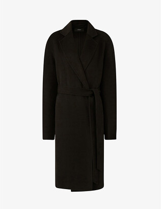 Joseph Cenda wool and cashmere-blend belted coat