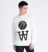 Wood Wood White Team AA Hester Sweater