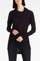 Lucky Brand Cowlneck Thermal Sweater