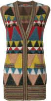 Missoni sleeveless geometric cardigan