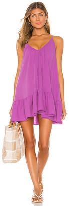 9seed 9 Seed St Tropez Ruffle Mini Dress