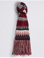 M&S Collection Fairisle Scarf