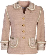 Pastel Coral Classic Jacket Coral