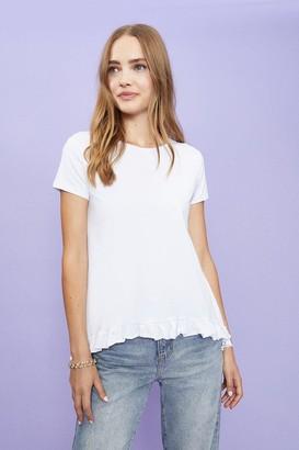 Coast Short Sleeve Ruffle Hem T-Shirt