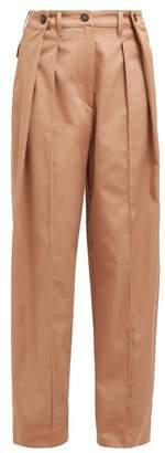 Sportmax Freccia Trousers - Womens - Light Brown