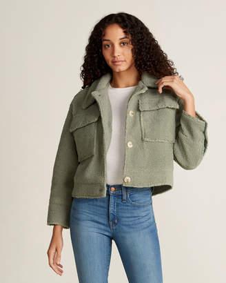 Lush Sage Flap Pocket Jacket