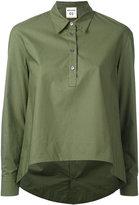 Semi-Couture Semicouture - plain button up top - women - Cotton - 40