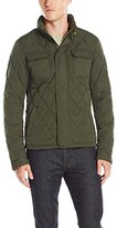 Scotch & Soda Men's Light Padded Quilted Jacket in Peached Nylon Quality