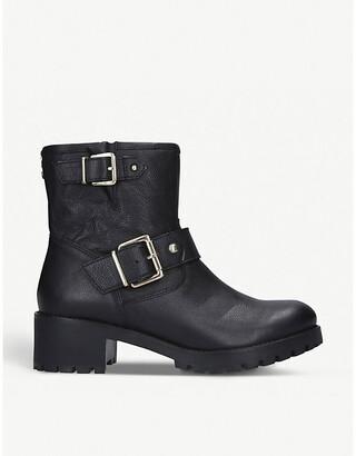 Carvela Shotgun leather ankle boots