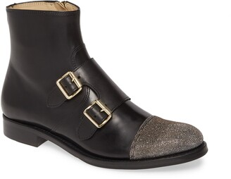 The Office of Angela Scott Mr. Dean Double Monk Strap Boot