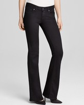 Paige Jeans - Transcend Skyline Bootcut in Black Shadow