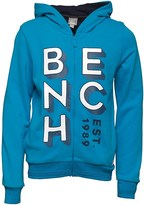 Bench Boys Zip Up Graphic Sweatshirt Blue