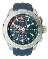 Nautica Men's N18724G Navy Silicone Quartz Watch